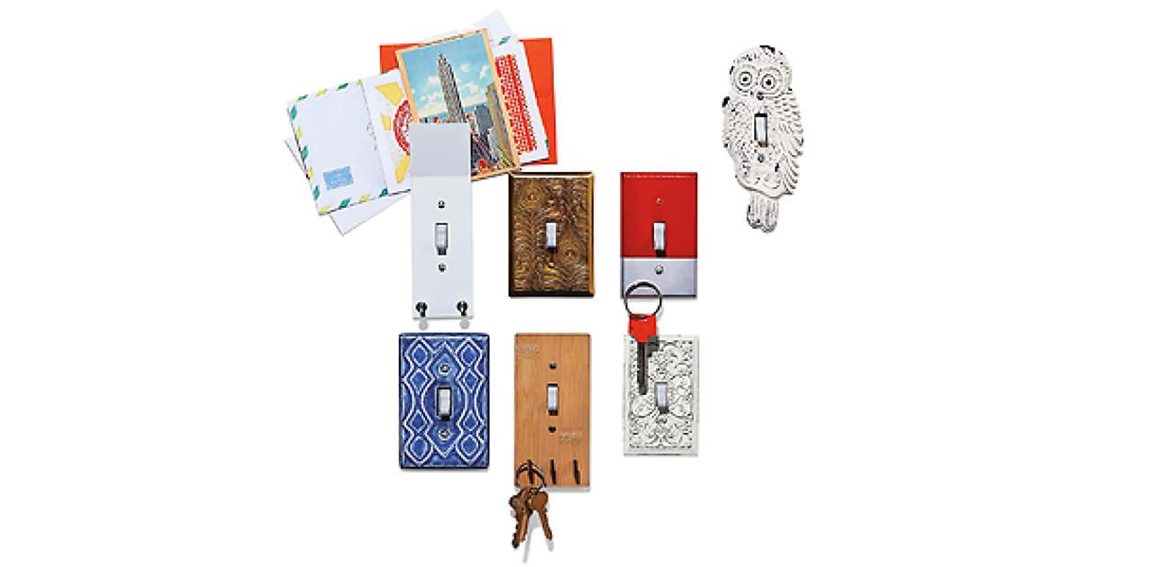 Kitschy Light Switches That Double As Decoration, Key Hooks, And Mail Holders | Fast Company | Business + Innovation space saver