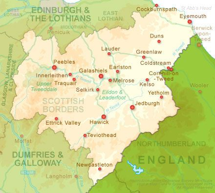 The Scottish Borders Attractions Theme Parks Museums Galleries