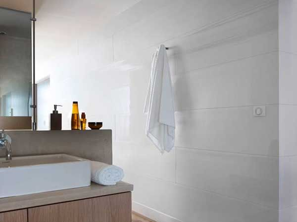 ide salle de bain - Lambris Mural Salle De Bain