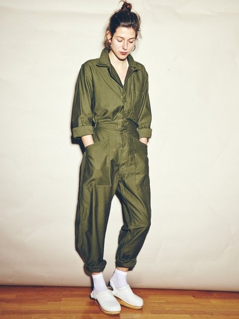 aeea72b58d4a Army Green Military Boiler Suit