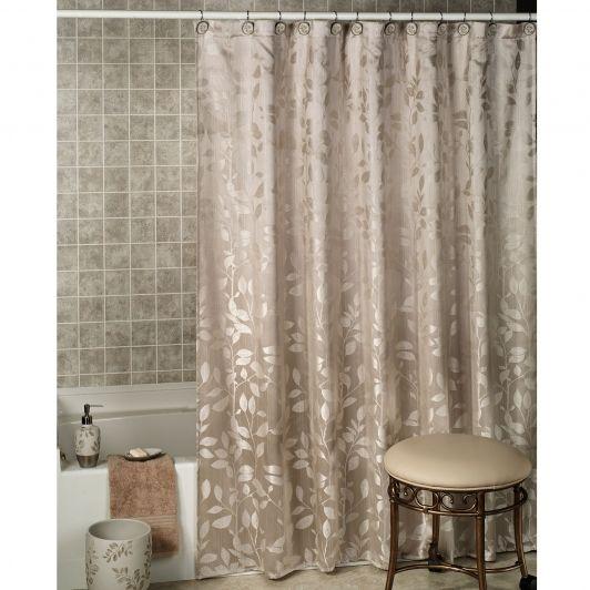 Garden Gate Leaf Shower Curtain-Home And Garden Design
