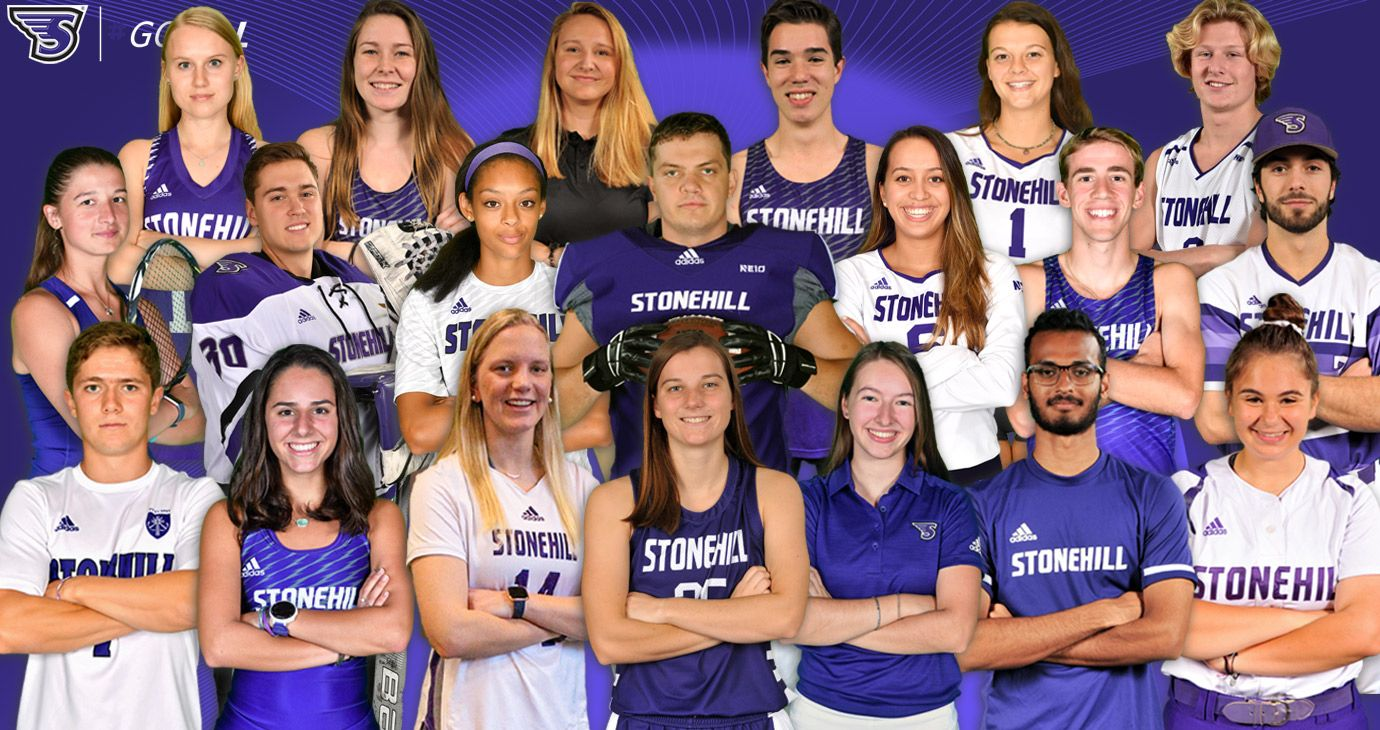 Stonehill Presents St Thomas Aquinas Medals In Celebration Of National Student Athlete Day En 2020