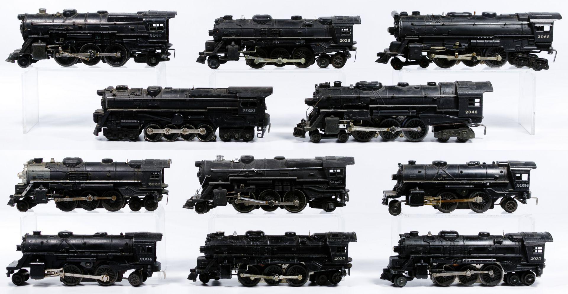 Lot 244: Lionel Model Train Locomotive Assortment; Eleven items including  #2020, two #2025, two #2026, two #2034, two #2037, #204…   Model trains,  Train, LocomotivePinterest