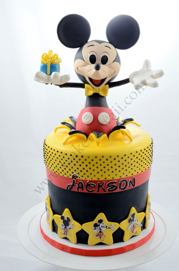 Mickey Mouse Birthday Cake. | Themed birthday cakes | Pinterest ...