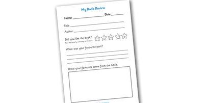 Twinkl Resources >> Book Review Writing Frame >> Classroom