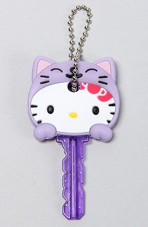 22644d10d MKL Accessories Women's The Hello Kitty Animal Key Cap One Size Purple MKL  Accessories,http