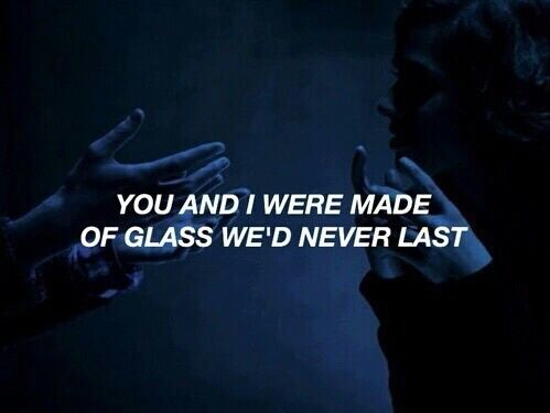 Imagen de quote, grunge, and glass