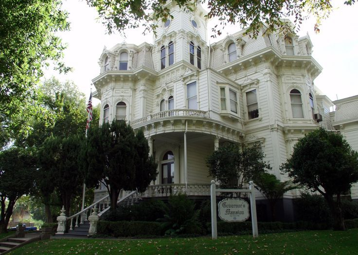 Historical Mansions Historic Governors Mansion Sacramento California