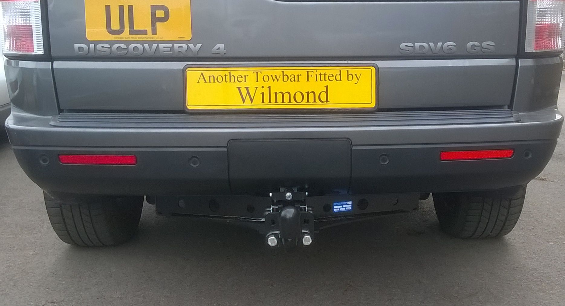 A Tow Trust TL1 flange ball towbar and vehicle specific wiring kit ...