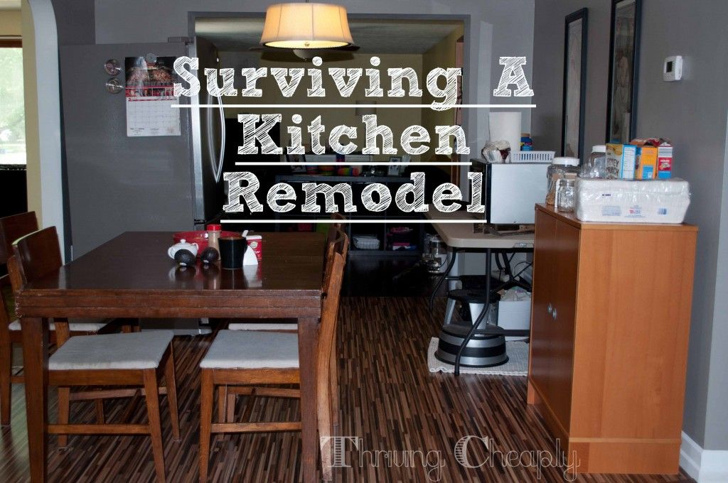 Surviving A Kitchen Remodel   Setting Up A Temporary Kitchen
