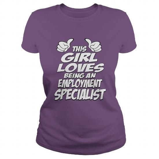 Being An Employment Specialist Shirt #sweater vest #sweater nails. LOWEST SHIPPING:  => https://www.sunfrog.com/Jobs/Being-An-Employment-Specialist-Shirt-Purple-Ladies.html?68278