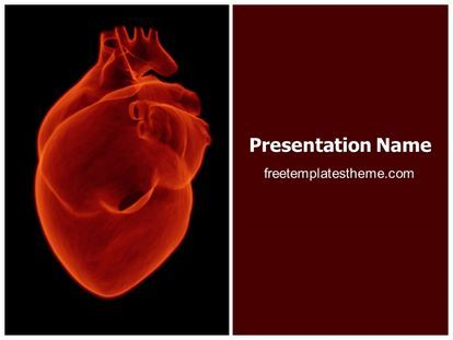 Download free human heart powerpoint template for your discover ideas about ppt template download free human heart toneelgroepblik Images