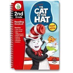 LeapPad Dr Seuss The Cat in the Hat 2nd Grade Reading Book