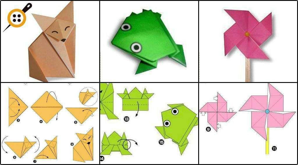 Легкой промышленностью, оригами для начинающих картинки