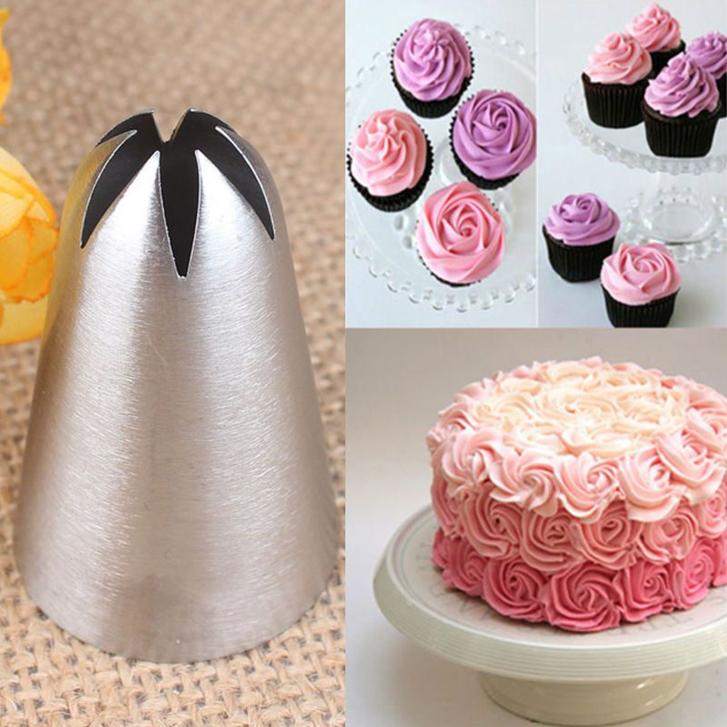1 37 Aud 1 Drop Rose Flower Icing Piping Tips Nozzle Cake Cupcake Decorating Pastry 2018 Ebay Ho In 2020 Piping Icing Cupcakes Decoration Cake Decorating Frosting