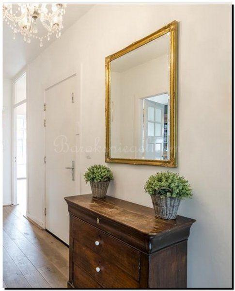 Gouden barok spiegel in hal online bestellen vanaf € 39,95 en gratis bezorgd in Nederland en België