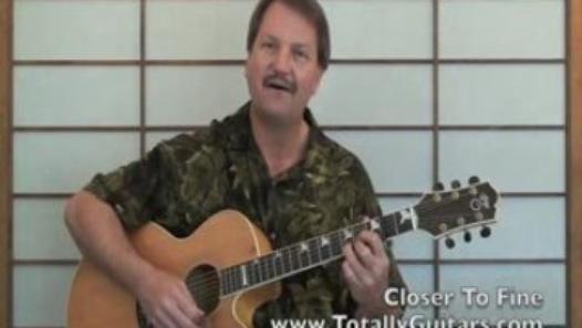 Guitar Lesson Closer To Fine The Indigo Girls Chords
