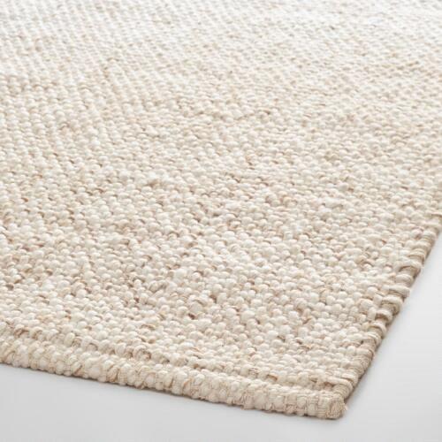 Ivory Tonal Sweater Wool Emilie Area Rug World Market