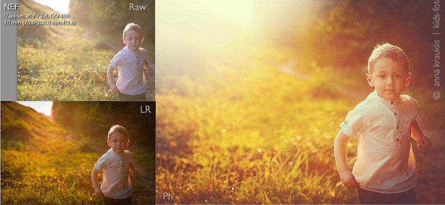 как в фотошопе красиво обработать фотографию