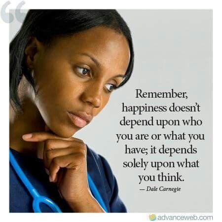 Think happiness.