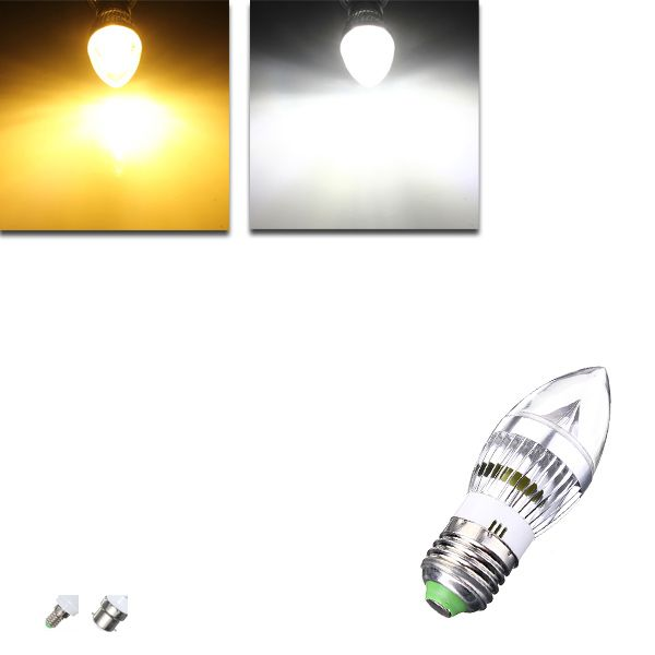 E27 E14 B22 E12 4 5w Led Chandelier Candle Light Bulb 85 265v