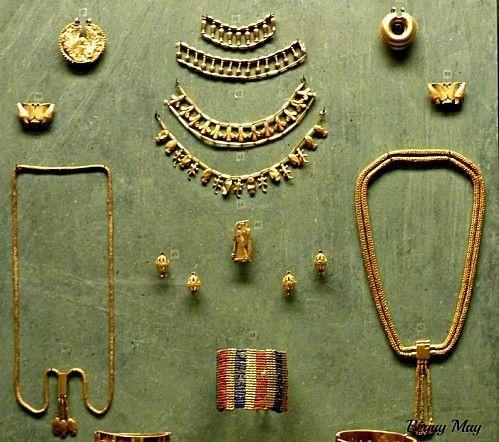 Bijoux égyptiens du Louvre