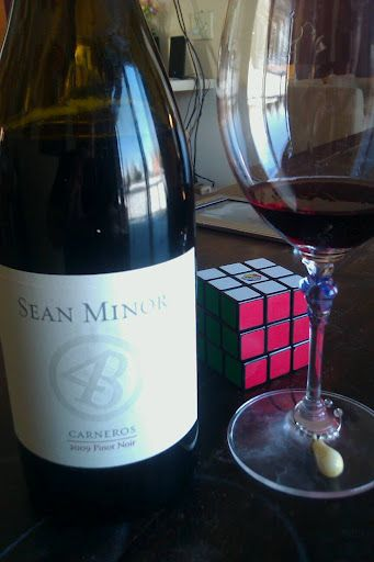 Sean Minor Pinot - First Tasted at El Paseo - a STEAL at $15 a bottle!