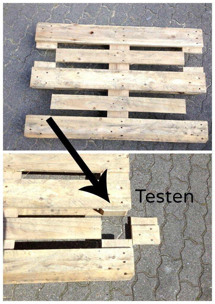 Möbel aus Paletten bauen - Anleitung   Pinterest   Möbel aus ...