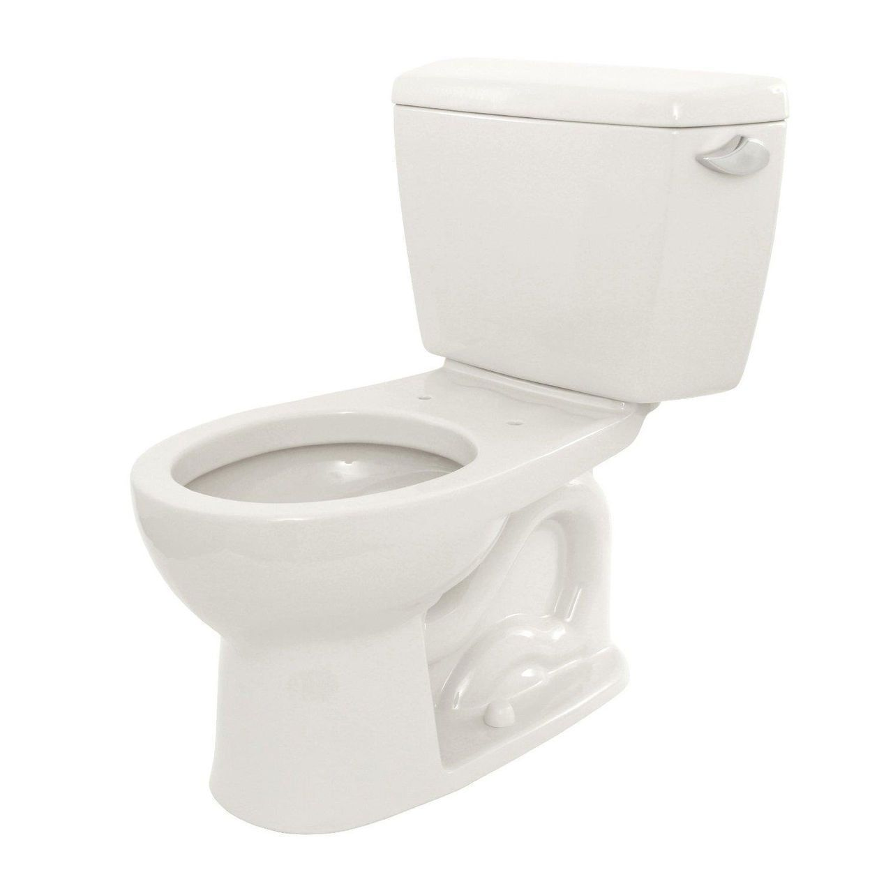 Toto Drake 2-piece Toilet with Round Bowl and Right Hand Trip Lever ...