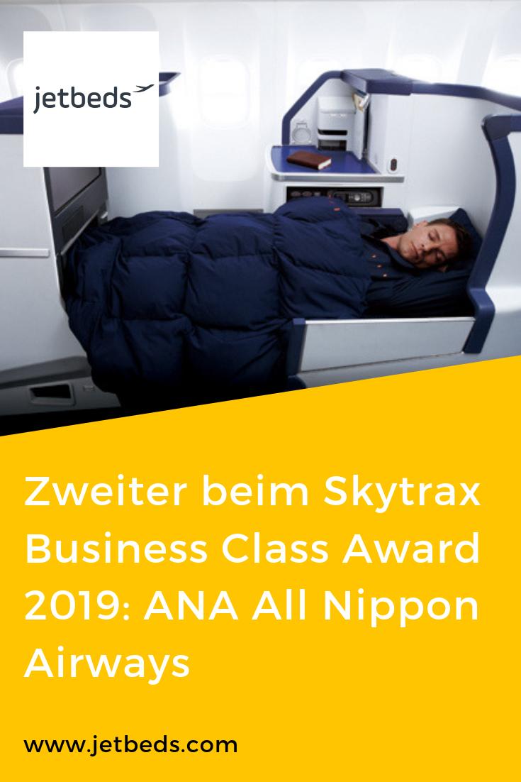 Der Preis für die zweitbeste Business Class laut Skytrax