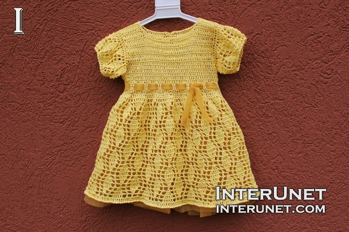 Crochet Dress | Patterns for boys and girls | Pinterest | Para bebes ...