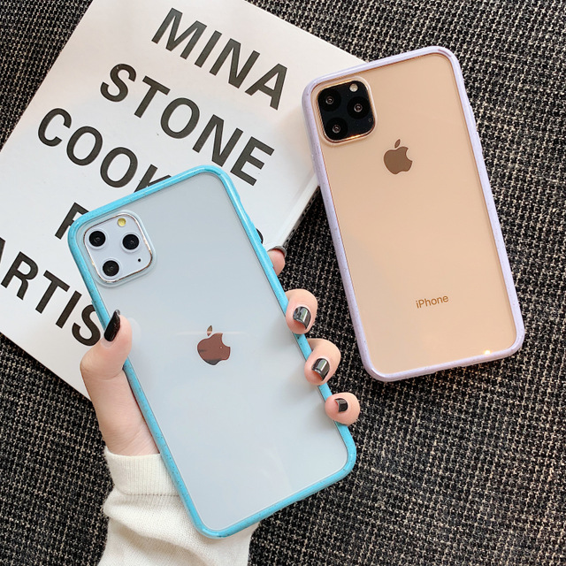 Candy Color Wave Point Frame Phone Case For Iphone 11 11pro Max X Xr Xs Max 8 7 6 6s Plus Iphone Apple Iphone Accessories Iphone Cases