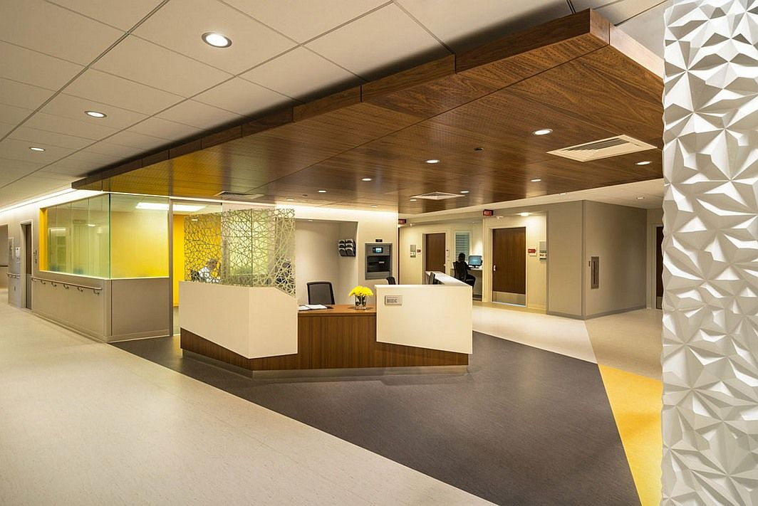 Healthcare giants stats from the top 5 hospital design
