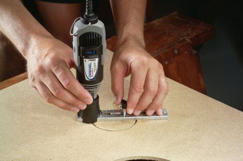 Dremel 678 01 Circle Cutter And Straight Edge Guide Power Rotary Tool Accessories Dremel Dremel Projects Dremel Tool