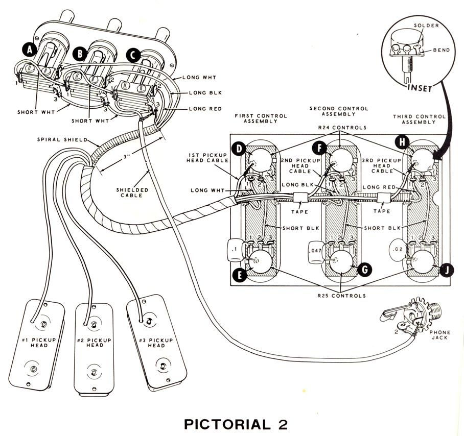 Harmony Les Paul Guitar Wiring Diagram