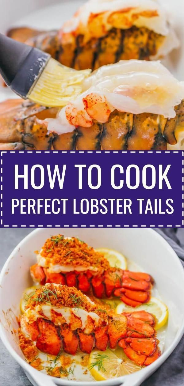 How to Cook Lobster Tails Perfectly Each Time - Savory Tooth #lobstertail
