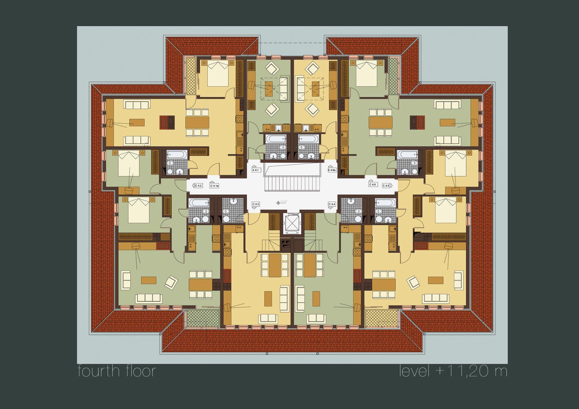 Shadowrun floorplan wohnkomplex stock 4 shadowrun - Apartment exterior color schemes ...