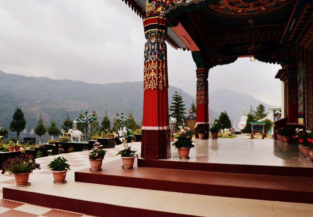 Chillipam Monastery near Bomdila, Detail 1   Amazing ...