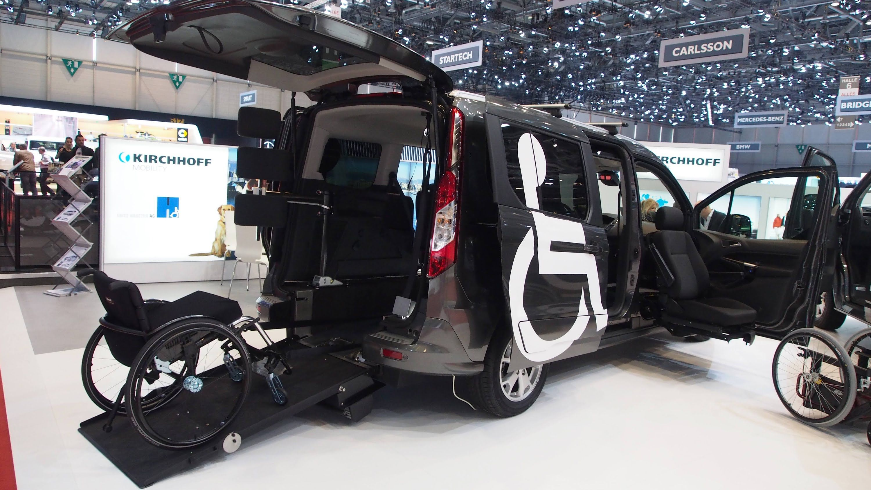 Ford Grand Tourneo Connect By Kirchhoff Mobility Exterior And