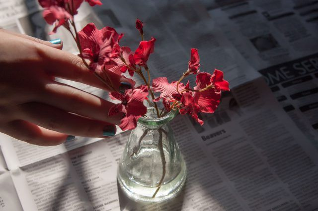 How to make your own fake water for artificial flowers artificial how to make your own fake water for artificial flowers mightylinksfo Image collections