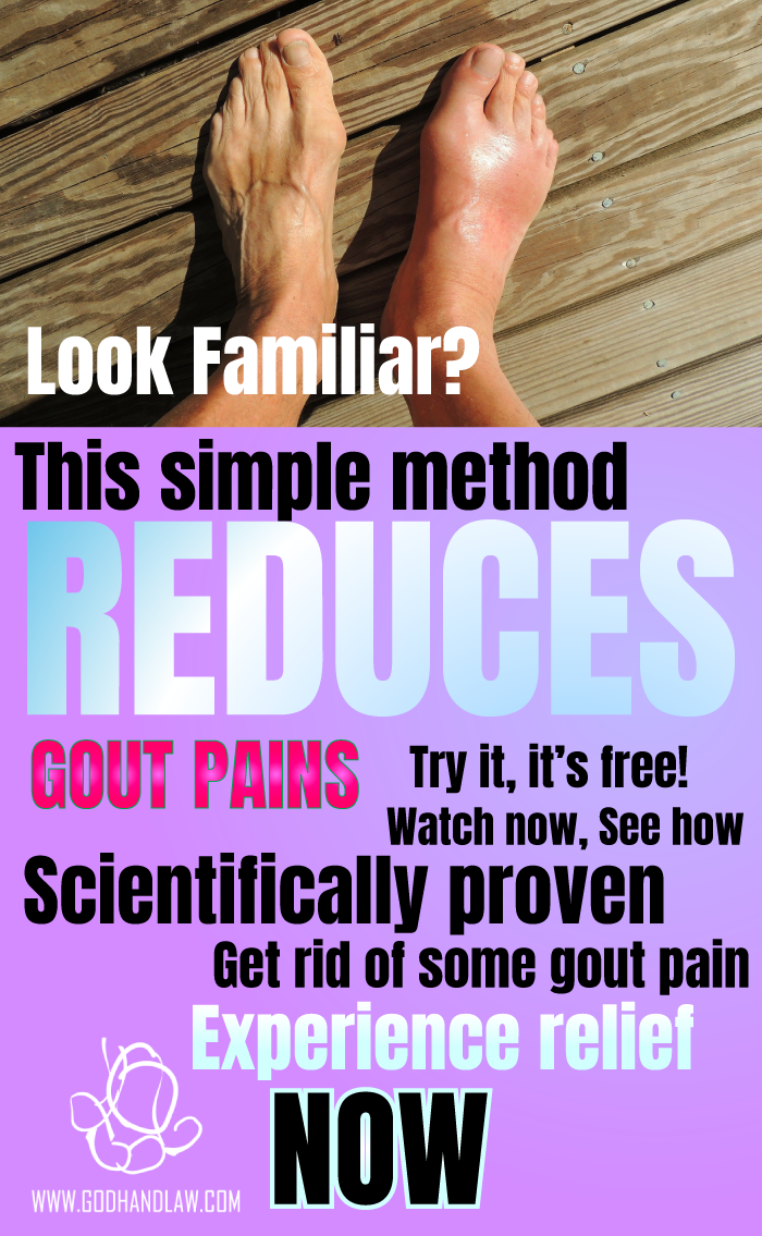 Gout Cure   God Hand Law