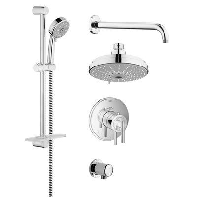 GROHE GrohFlex Thermostatic Shower Faucet Shower systems