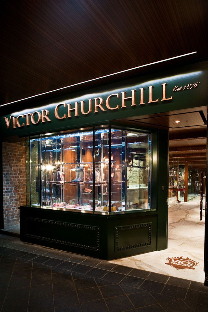 Victor Churchill butcher shop by Dreamtime Australia Design, Sydney food