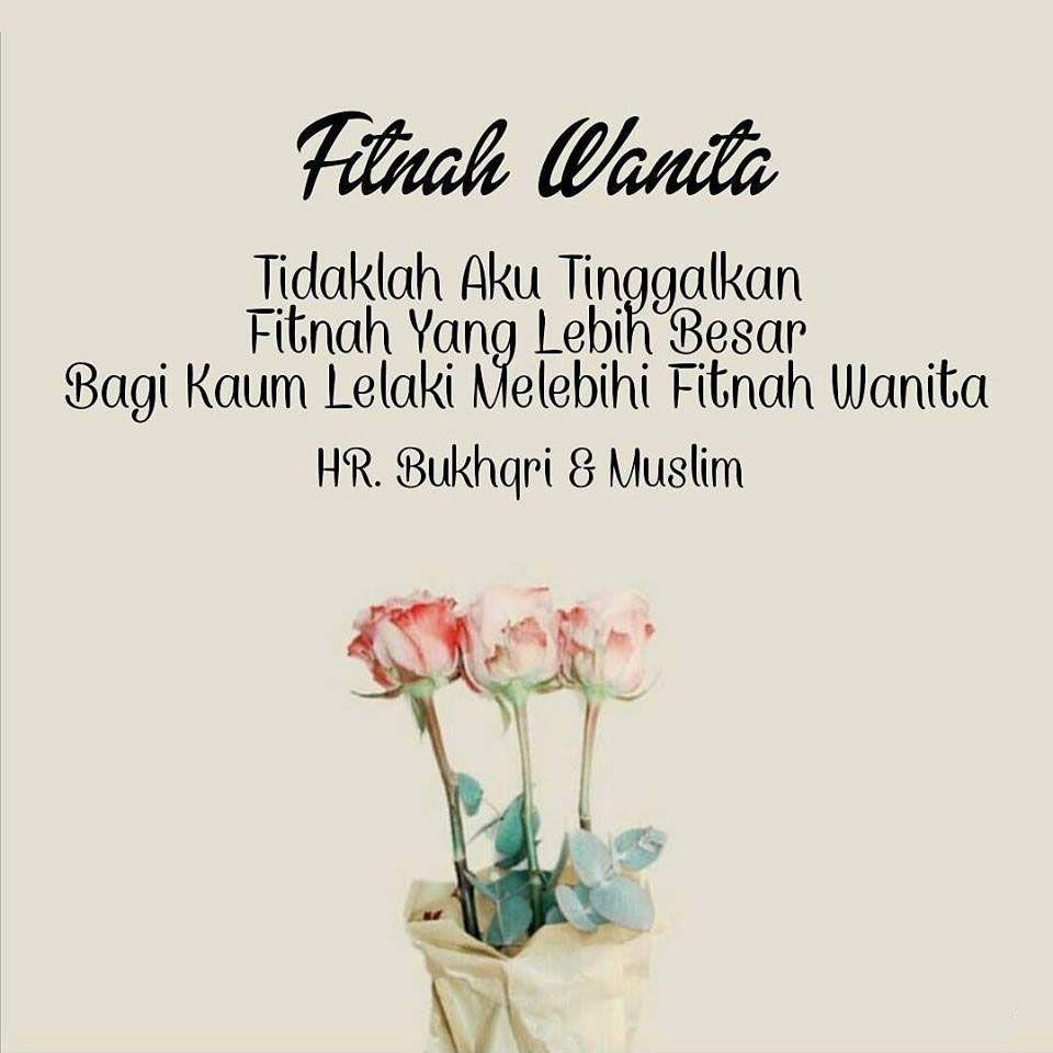 Fitnah Wanita Motivasi Quran Wanita