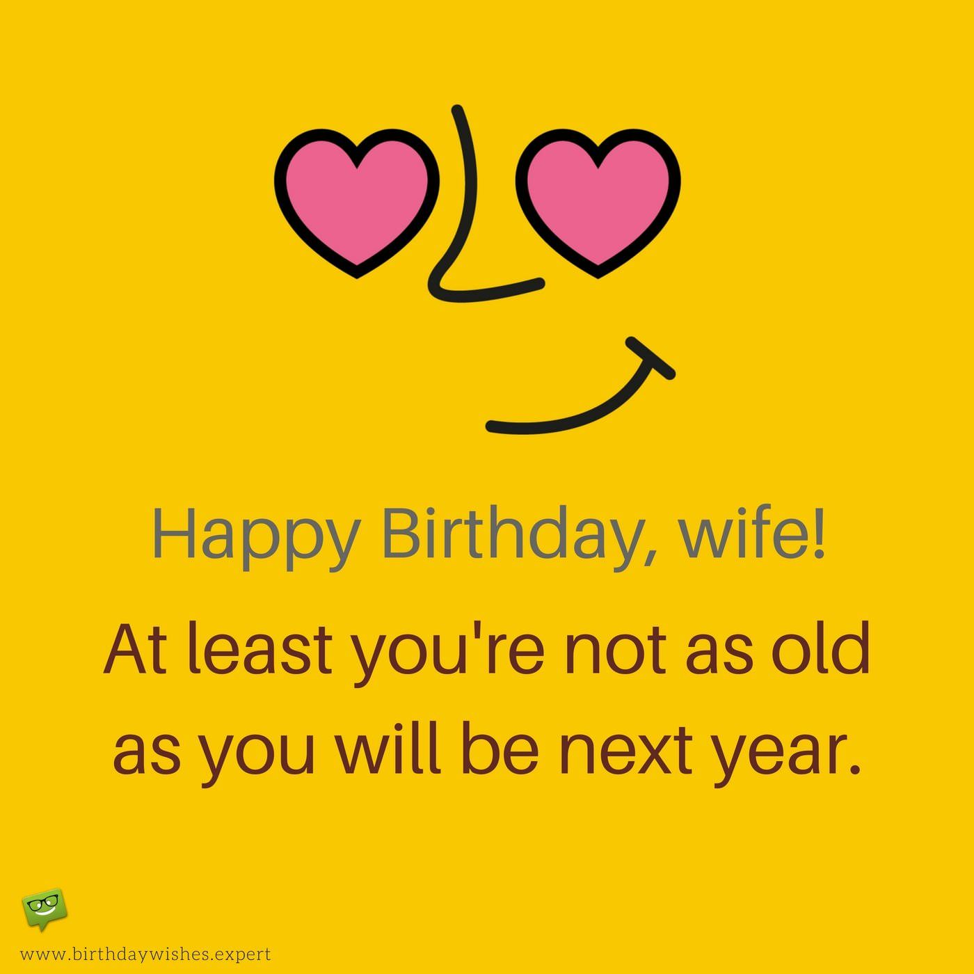 Make her Smile : Funny Birthday Wishes for your Wife ...