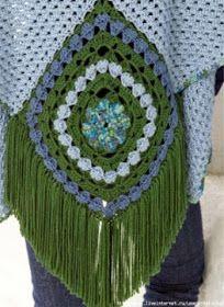 Ponto Preso1: Croche - uma Bonita e acolhedora peca ...