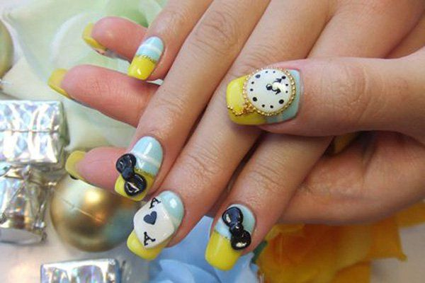 30 Cute Nails Designs #naildesignideaz #cutenaildesigns #naildesigns