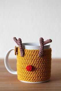 Reindeer mug cozy