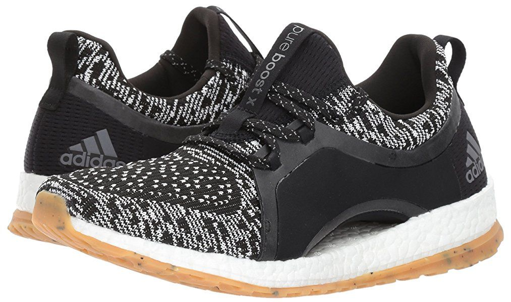 adidas performance le pureboost x atr scarpa da corsa, nero / bianco