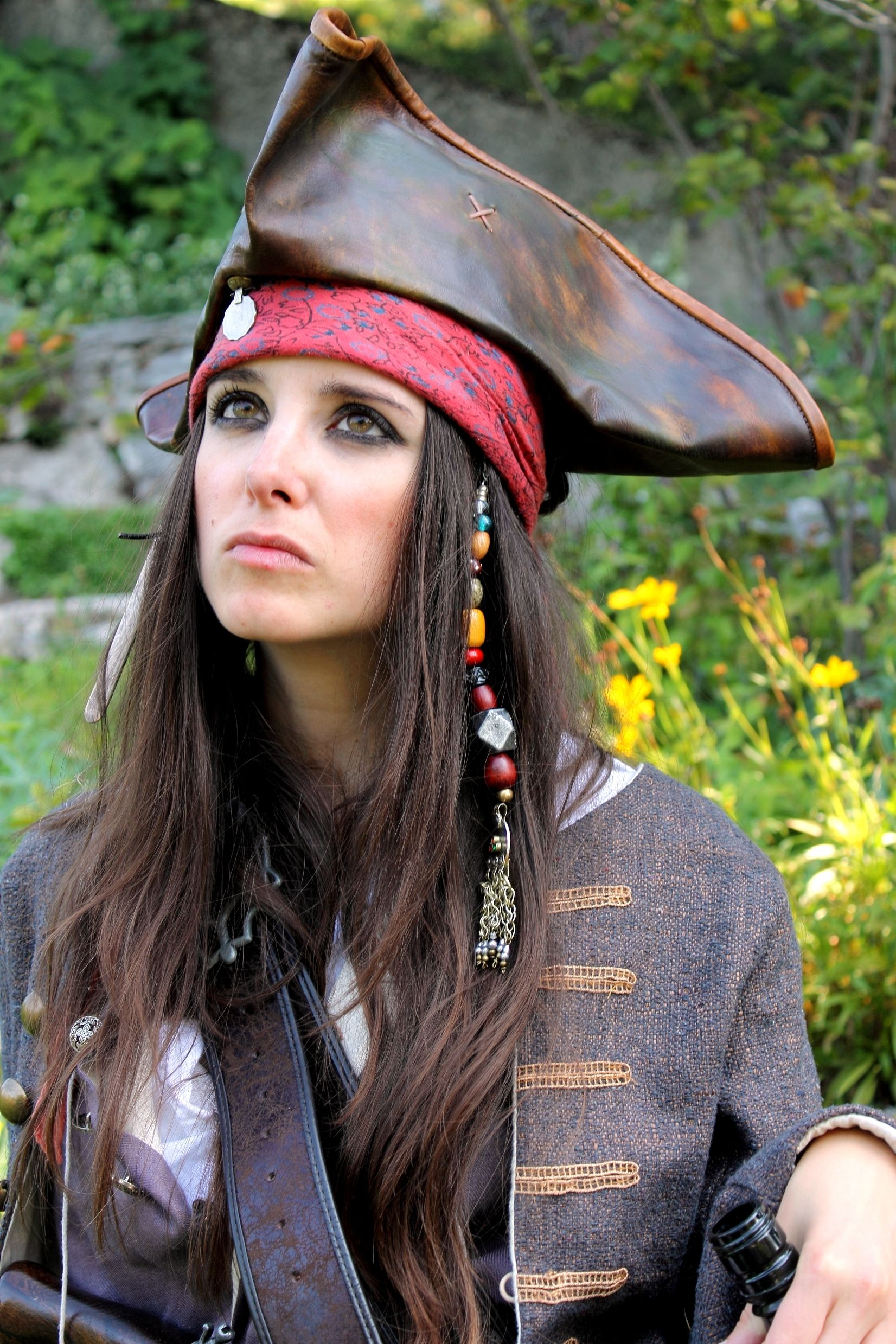 ab3fbc8b Jack Sparrow Female - inspiration | DIY | Female pirate costume ...